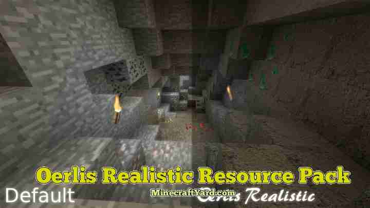 Oerlis Realistic Resource Pack 1.12.2/1.12/1.11.2