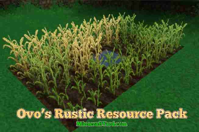 Ovo's Rustic Resource Pack 1.10.2/1.9.4/1.8.9