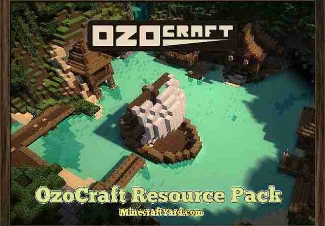 OzoCraft Resource Pack 1.10.1/1.9.4/1.8.9