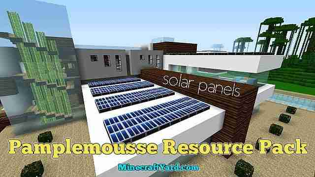 Pamplemousse Resource Pack 1.10.1/1.9.4/1.8.9