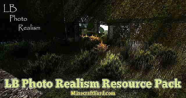 LB Photo Realism Resource Pack 1.10.1/1.9.4/1.8.9