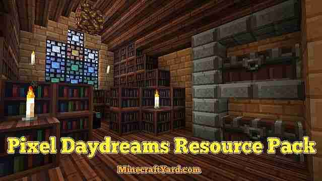 Pixel Daydreams Resource Pack 1.12.2/1.11.2/1.10.2