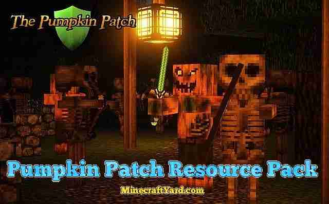 Pumpkin Patch Resource Pack 1.12.2/1.12/1.11.2