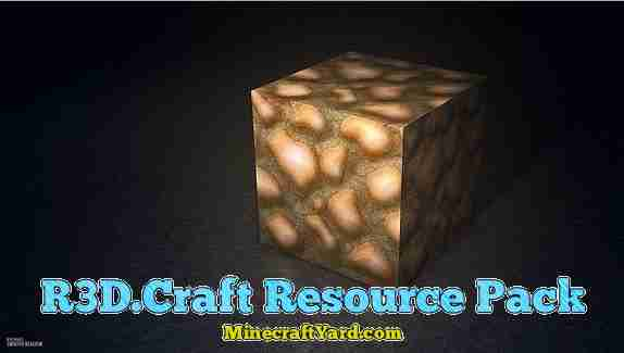 R3D Craft Resource Pack 1.10.1/1.9.4/1.8.9