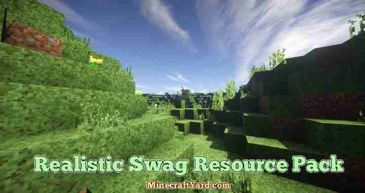 Realistic Swag Resource Pack 1.13.1/1.13/1.12.2