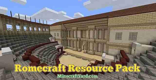 Romecraft Resource Pack 1.13.1/1.13/1.12.2/1.11.2