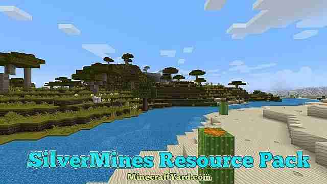 SilverMines Resource Pack 1.12.2/1.11.2/1.10.2