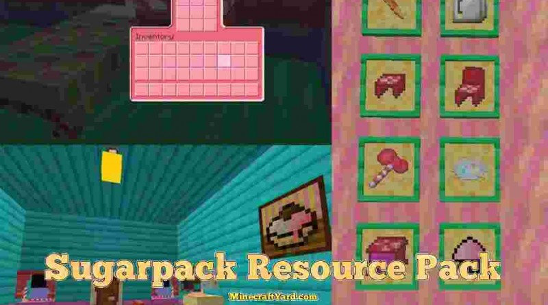 Sugarpack Resource Pack 1.10.1/1.9.4/1.8.9