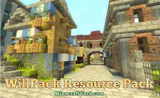 WillPack Resource Pack 1.10.1/1.9.4/1.8.9