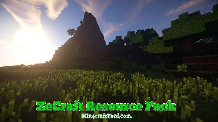 Zecraft Resource Pack 1.11.2/1.11/1.10.2/1.9.4