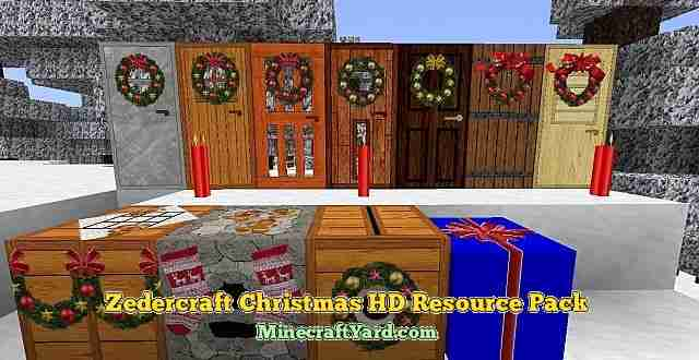 Zedercraft Resource Pack 1.10.1/1.9.4/1.8.9