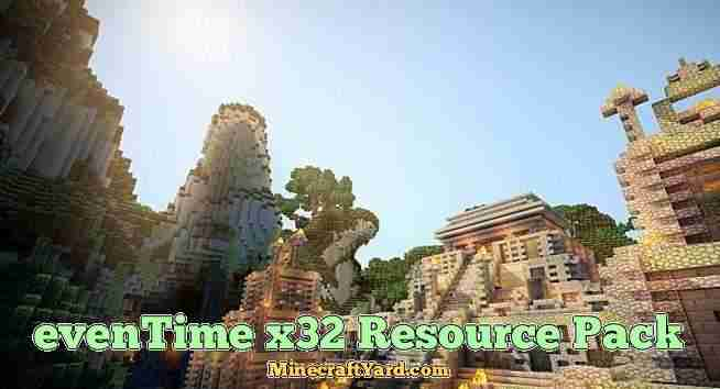 Eventime Resource Pack 1.10.1/1.9.4/1.8.9