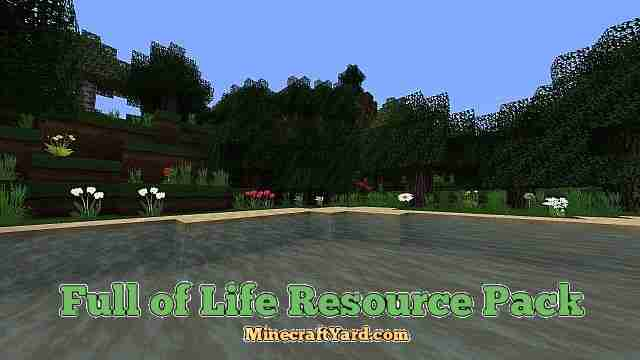 Full of Life Hd Resource Pack 1.11.2/1.11/1.10.2