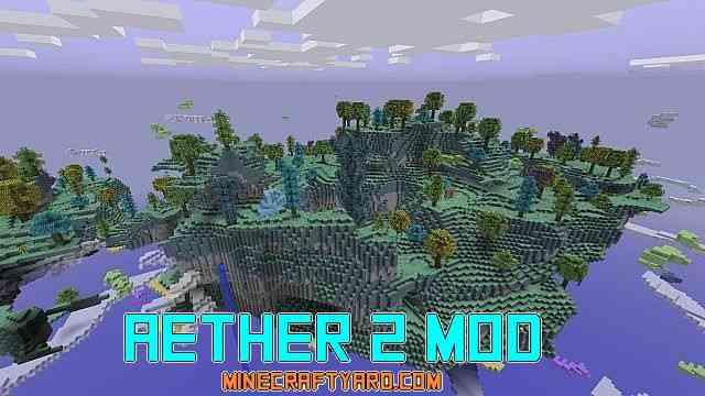 Aether 2 Mod 1.13.1/1.13/1.12.2/1.11.2