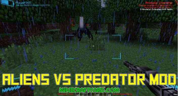 Aliens Vs Predator Mod 1.11.2/1.10.2/1.9.4