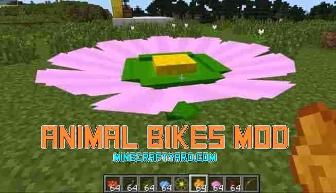 Animal Bikes Mod 1.12.2/1.12.1/1.11.2