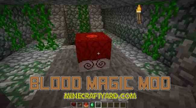 Blood Magic Mod 1.11.2/1.10.2/1.9.4