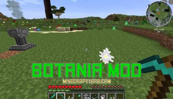 Botania Mod 1.14/1.13.2/1.12.2/1.11.2