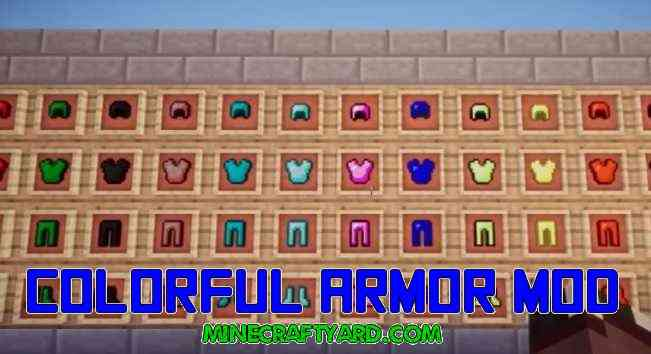 Colorful Armor Mod 1.11.2/1.10.2/1.9.4