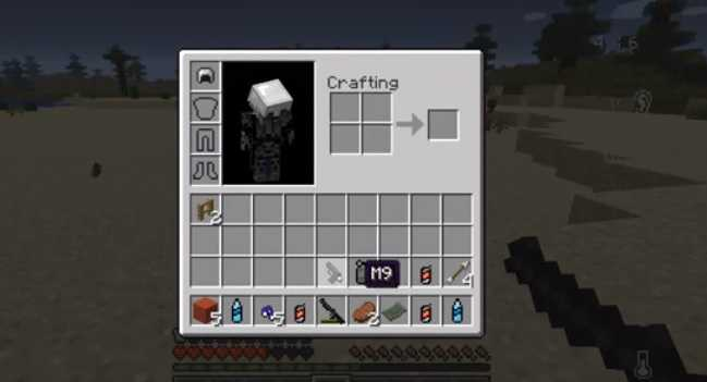 Crafting Dead Mod for Minecraft 2