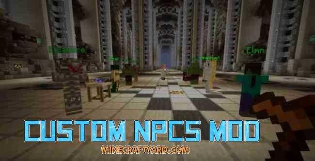 Custom NPCs Mod 1.11.2/1.11/1.10.2