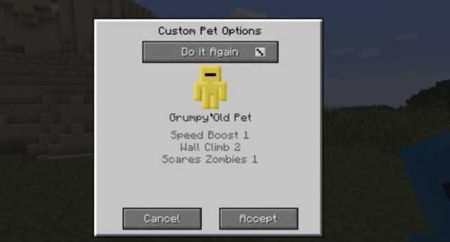 Custom Pet Mod 2