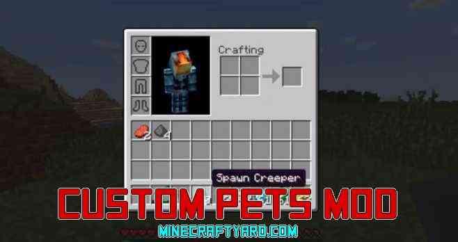 Custom Pets Mod 1.13.1/1.13/1.12.2/1.11.2