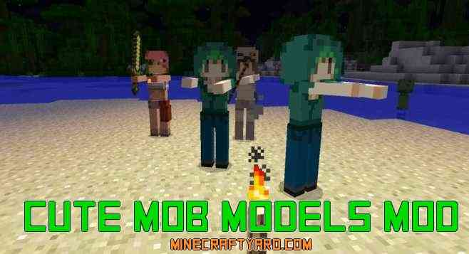 Cute Mob Models Mod 1.10/1.9.4