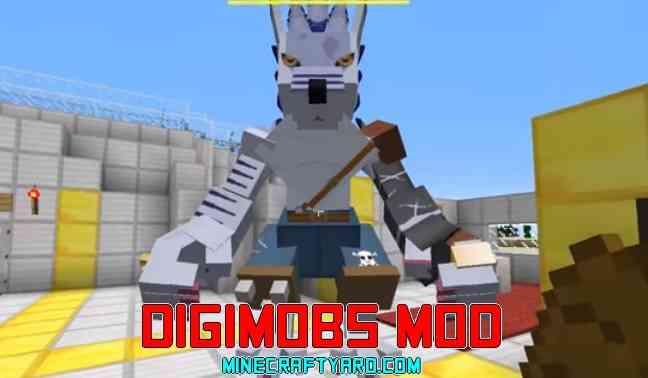Digimobs Mod 1.13.1/1.13/1.12.2/1.11.2