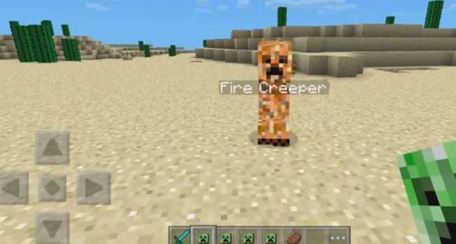 Elemental Creepers Mod MCPE 1