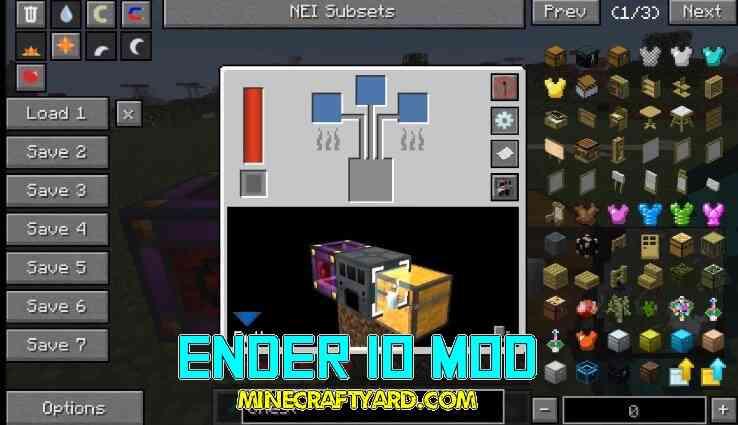 Ender IO Mod 1.13.1/1.13/1.12.2/1.11.2