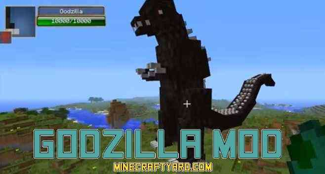 Godzilla Mod 1.11.2/1.10.2