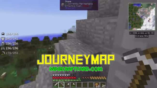 JourneyMap Minecraft Download - Journey map para minecraft 1 10 2