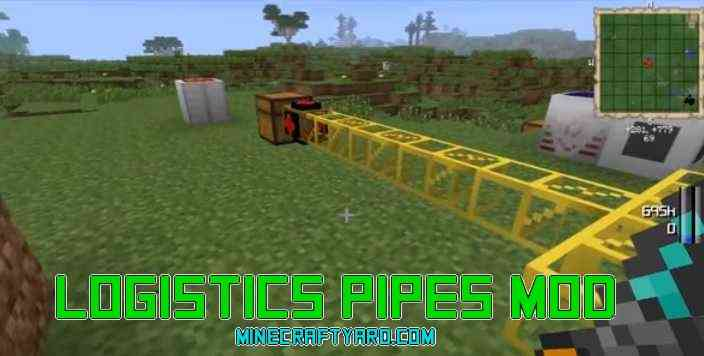 Logistics Pipes Mod 1.13.1/1.13/1.12.2/1.11.2