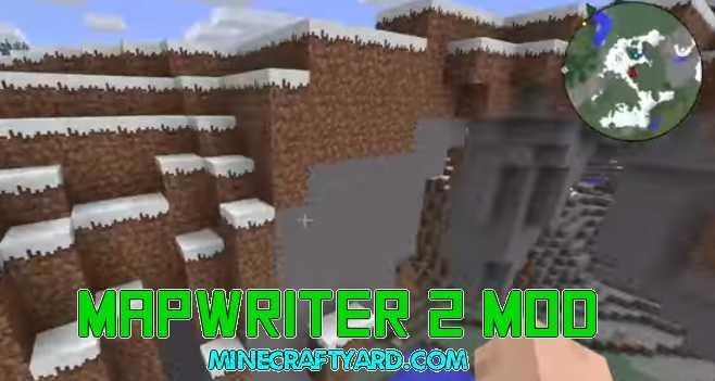Mapwriter 2 Mod 1.11.2/1.10.2/1.9.4