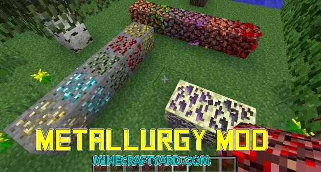 Metallurgy Mod 1.12.1/1.11.2