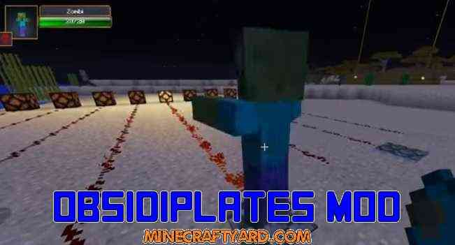 Obsidiplates Mod 1.11.2/1.10.2