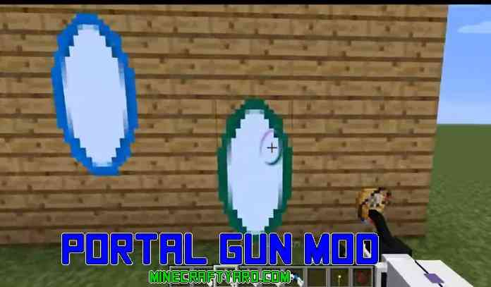 Portal Gun Mod 1.12.2/1.12.1/1.11.2