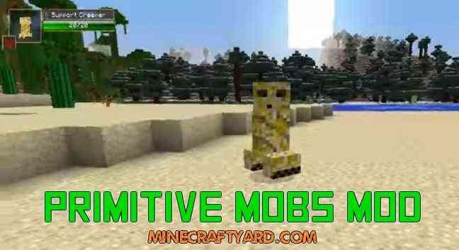 Primitive Mobs Mod 1.13.1/1.13/1.12.2