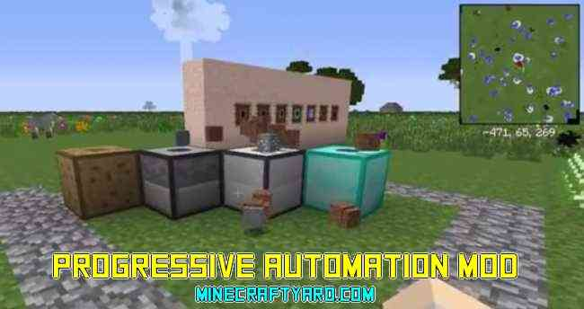 Progressive Automation Mod 1.12.1/1.11.2