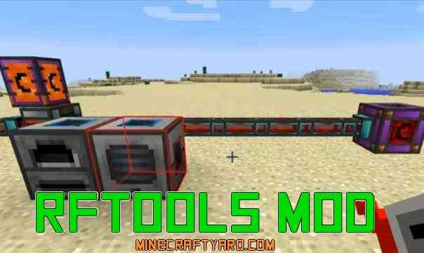 RFTools Mod 1.13.1/1.13/1.12.2/1.11.2