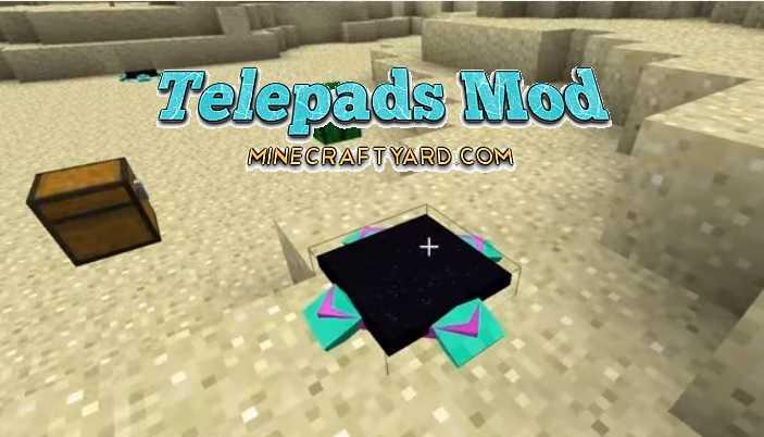 Telepads Mod 1.12.2/1.12.1/1.11.2