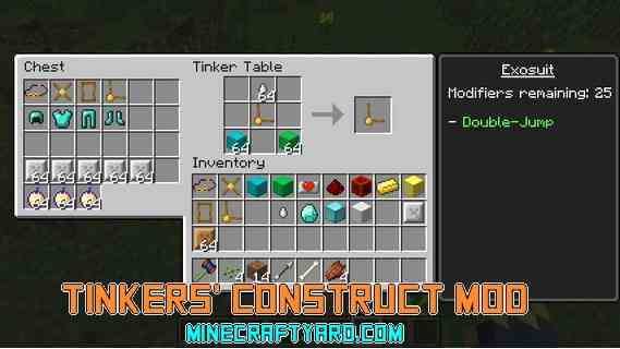 Tinkers' Construct Mod 1.12/1.11.2