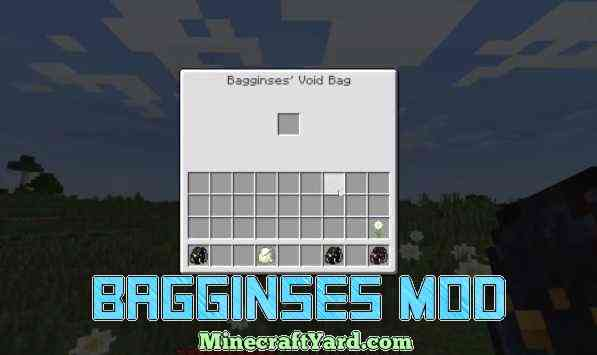Bagginses Mod 1.13.1/1.13/1.12.2/1.11.2