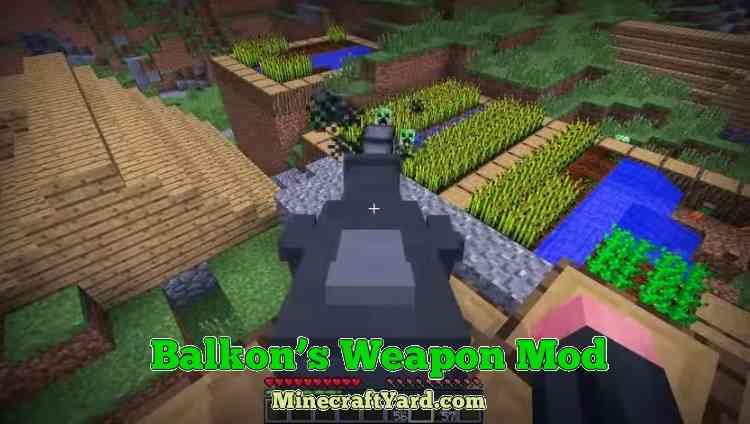 Balkon's Weapon Mod 1.14/1.13.2/1.12.2/1.11.2