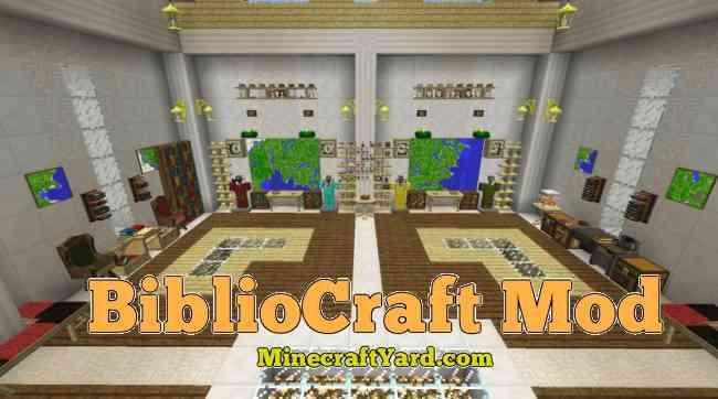 Bibliocraft Mod 1.13.1/1.13/1.12.2/1.11.2