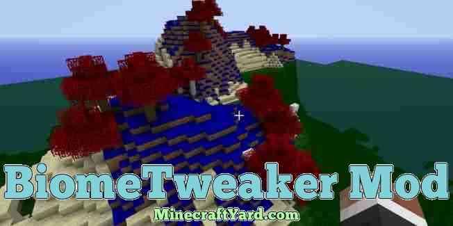 BiomeTweaker Mod 1.12/1.11.2