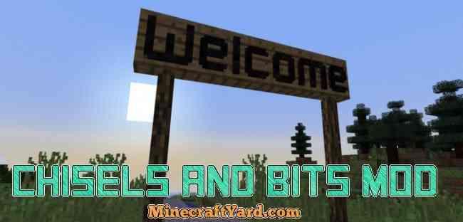 Chisel and Bits Mod 1.12/1.11.2/1.10.2