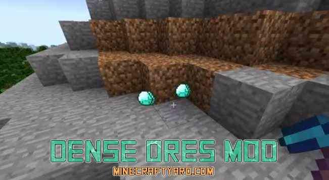 Dense Ores Mod 1.12.2/1.12.1/1.11.2