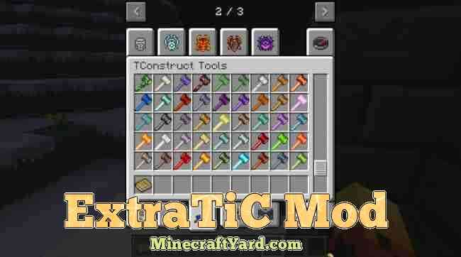 ExtraTic Mod 1.12.2/1.11.2